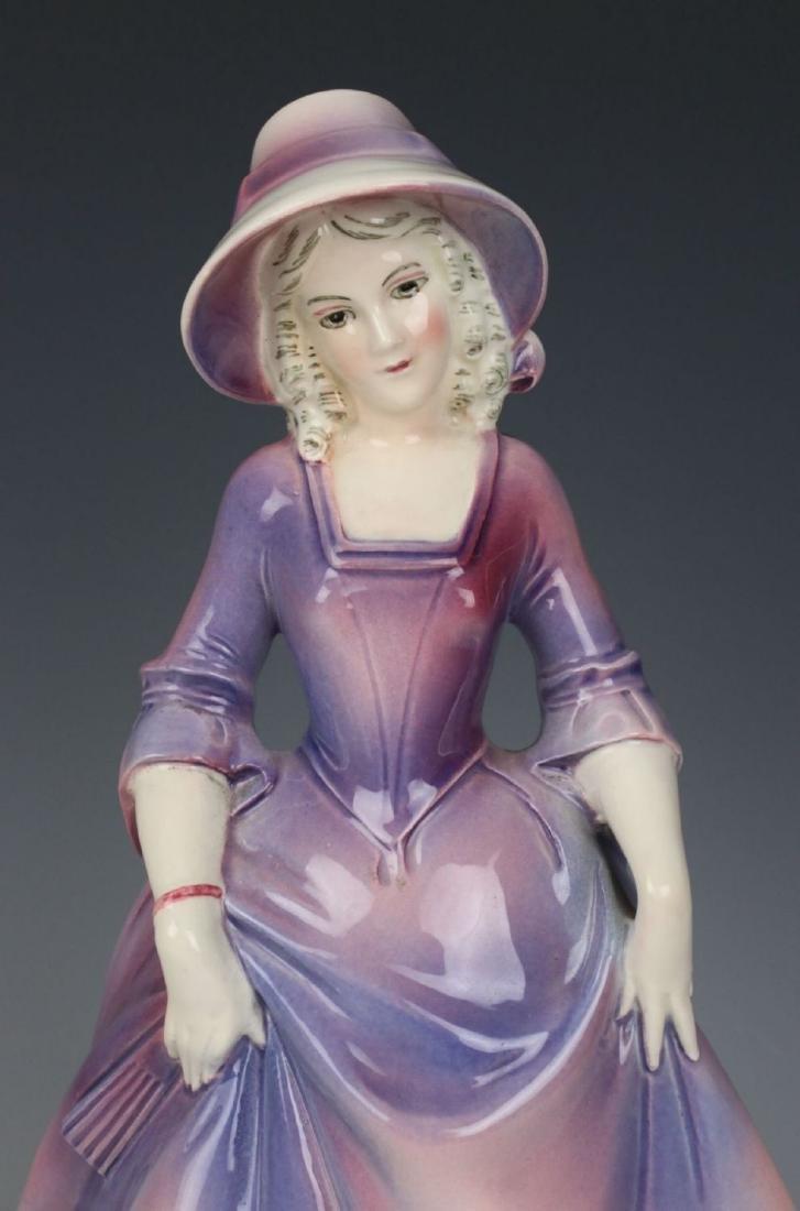 "Katzhutte Porcelain figurine ""Lady in Bonnet"" - 7"