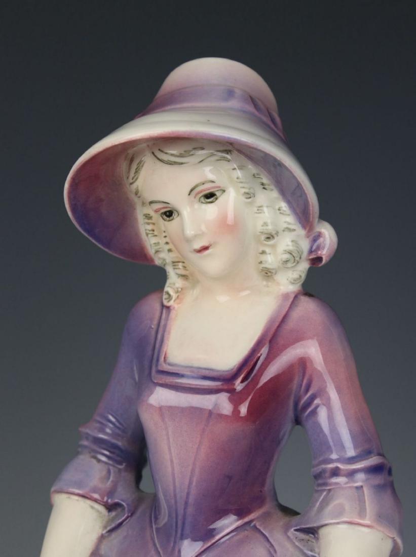 "Katzhutte Porcelain figurine ""Lady in Bonnet"" - 8"