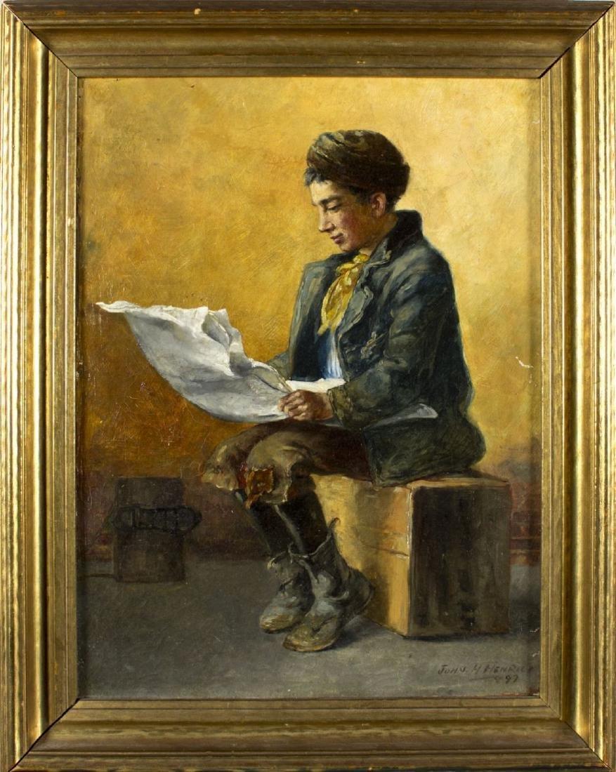 John Henrici (New York,1863-1958) oil on canvas
