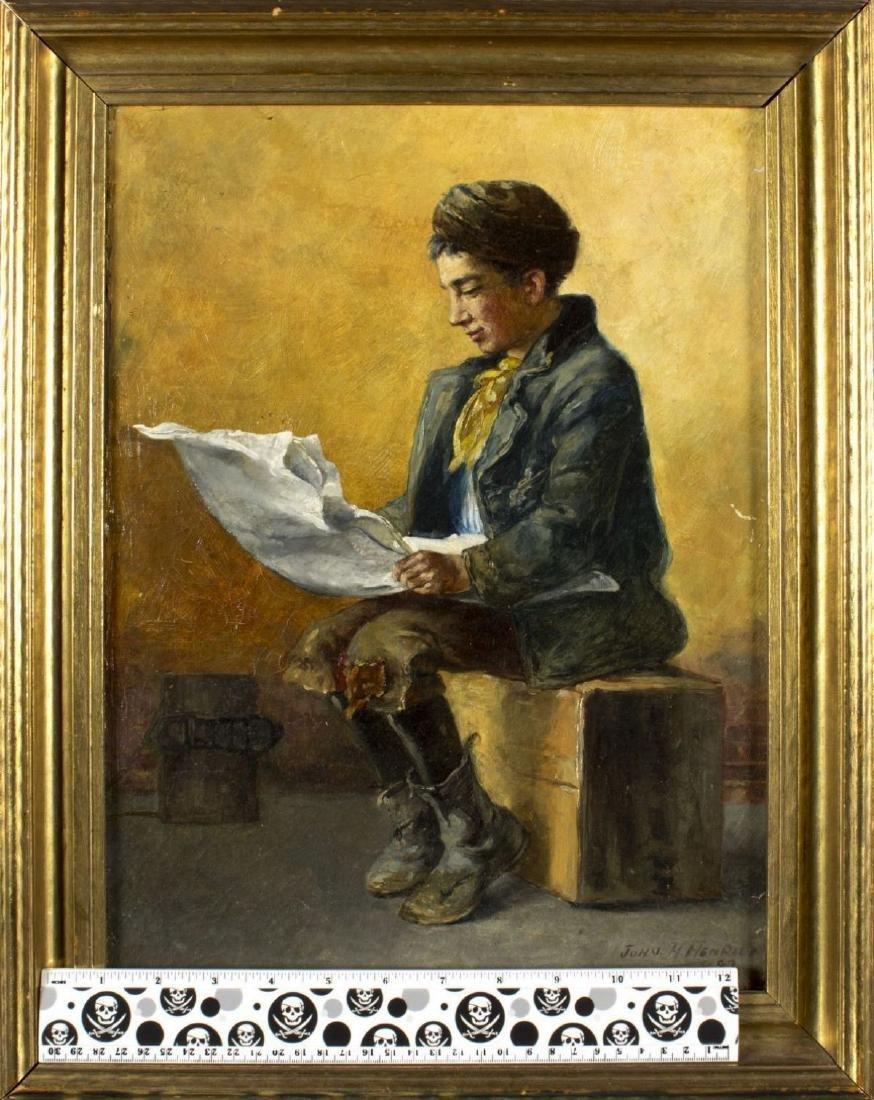 John Henrici (New York,1863-1958) oil on canvas - 2