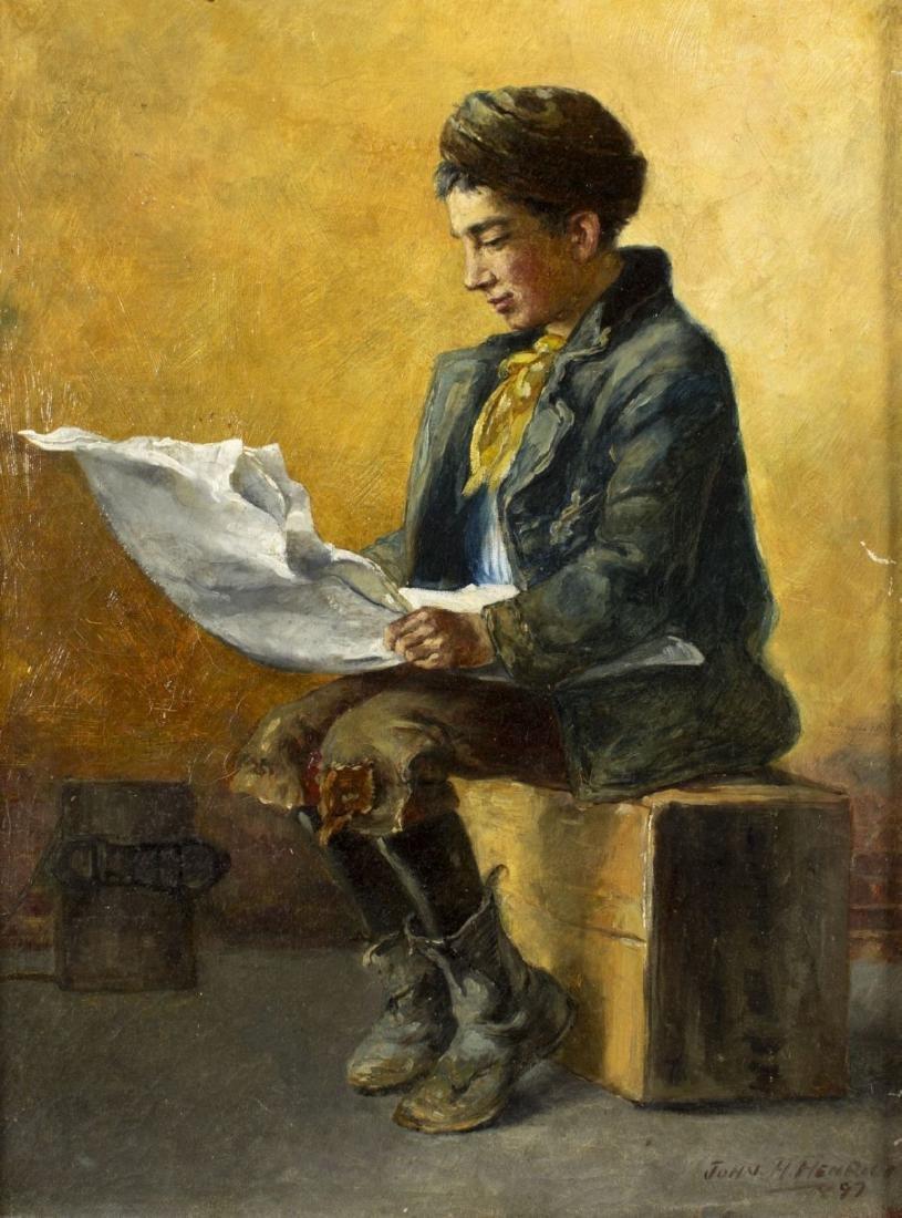 John Henrici (New York,1863-1958) oil on canvas - 3