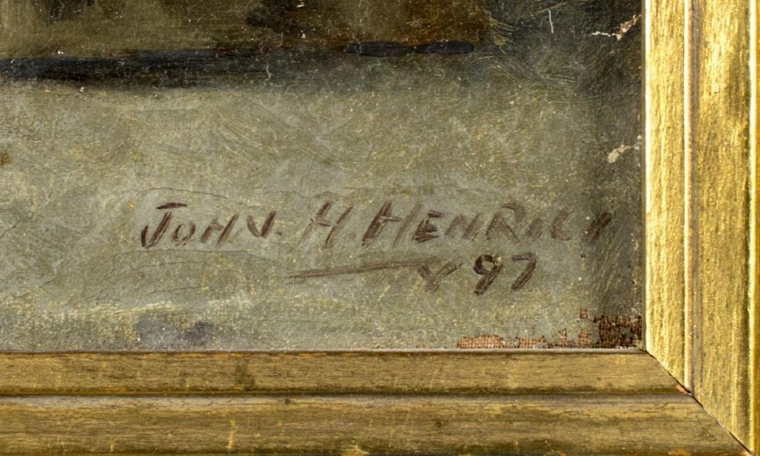 John Henrici (New York,1863-1958) oil on canvas - 4