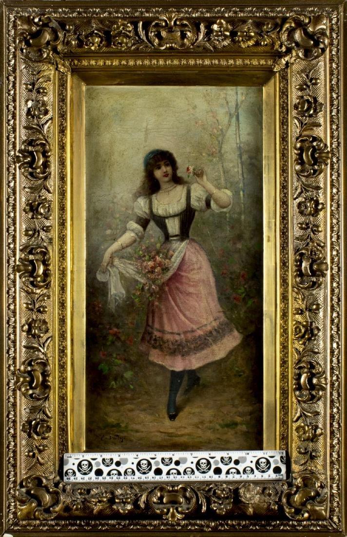 Carlo Valensi (Italy,19/20C) oil painting antique - 2