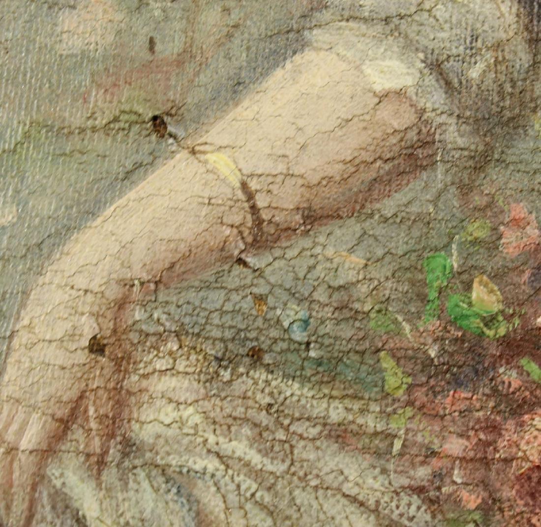 Carlo Valensi (Italy,19/20C) oil painting antique - 7