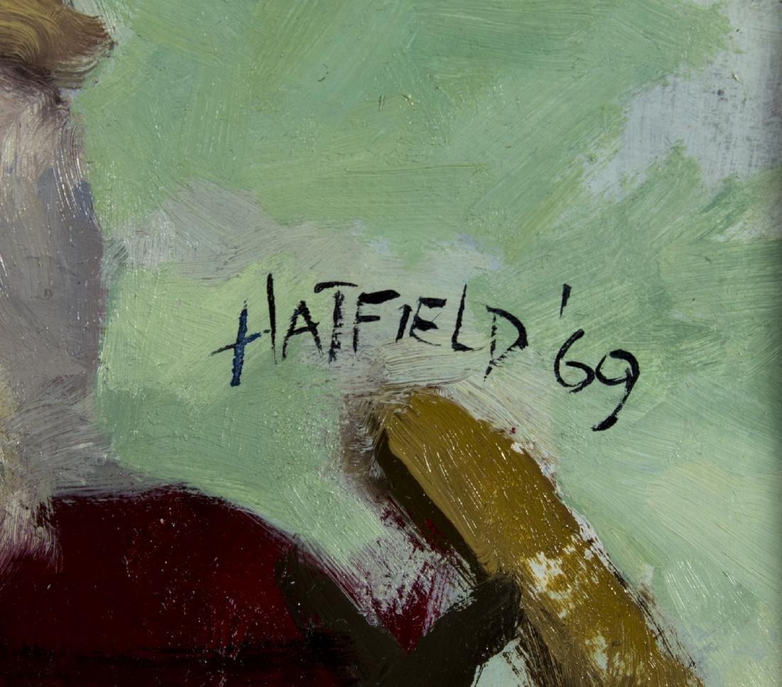 David Hatfield (NY,NJ,born 1940) oil painting - 4