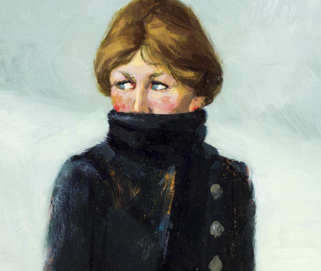 David Hatfield (NY,NJ,born 1940) oil painting - 5