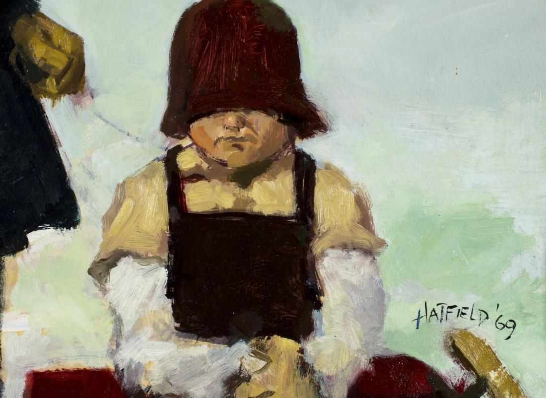 David Hatfield (NY,NJ,born 1940) oil painting - 7