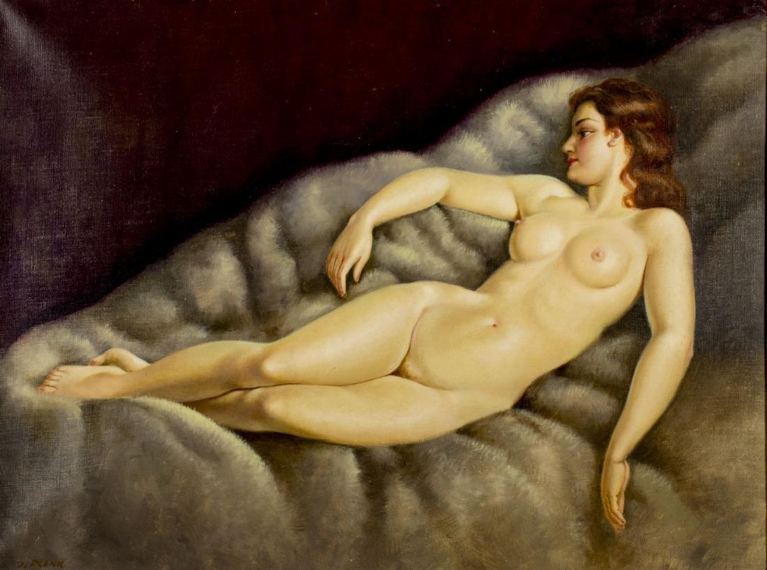 Josef Plank (Austria,b 1900) oil painting