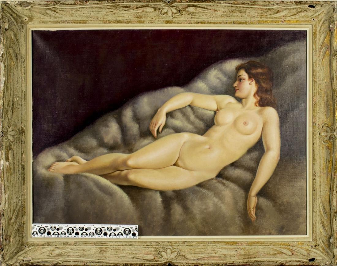 Josef Plank (Austria,b 1900) oil painting - 3