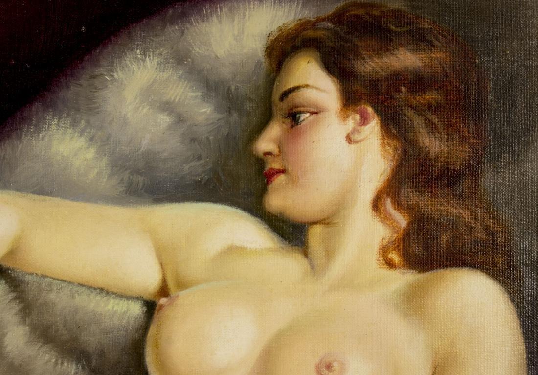 Josef Plank (Austria,b 1900) oil painting - 5