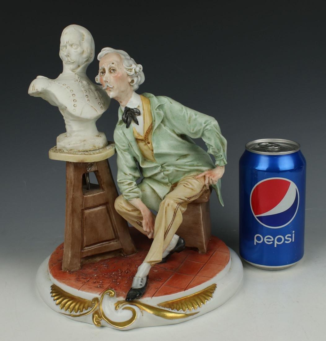 "Capodimonte Giuseppe Cappe Figurine ""The Sculptor"" - 10"