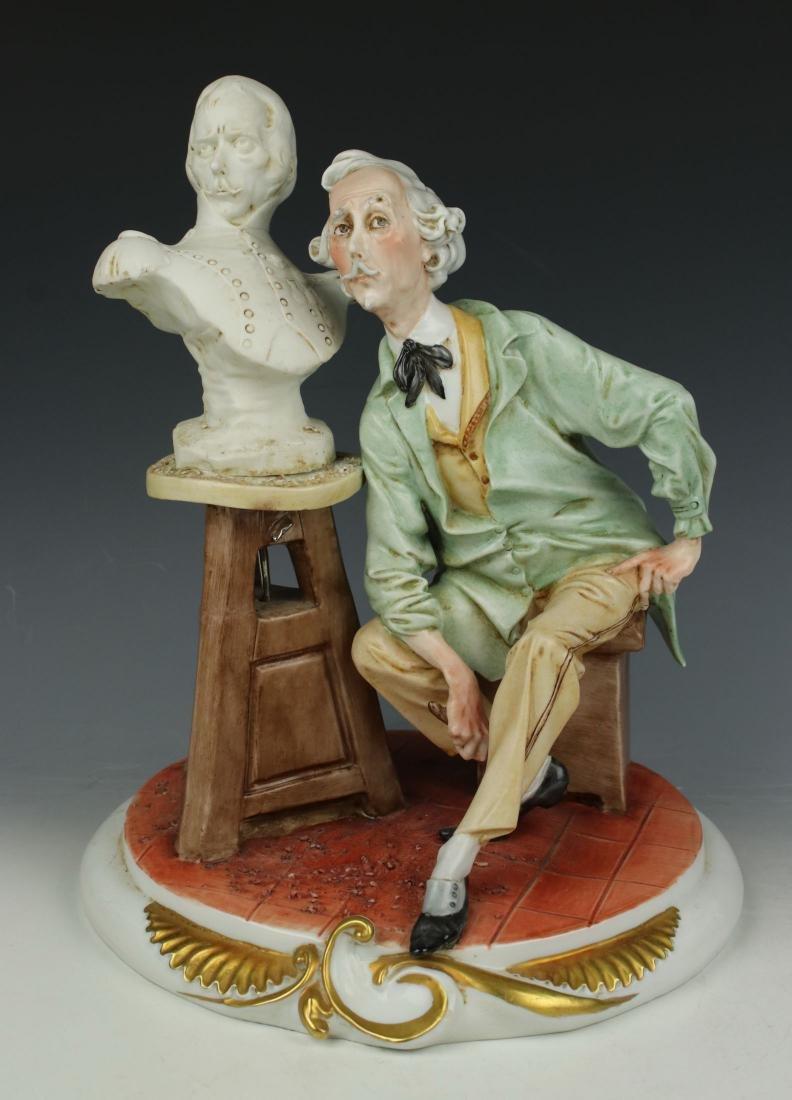 "Capodimonte Giuseppe Cappe Figurine ""The Sculptor"""