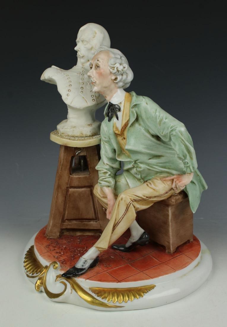 "Capodimonte Giuseppe Cappe Figurine ""The Sculptor"" - 2"