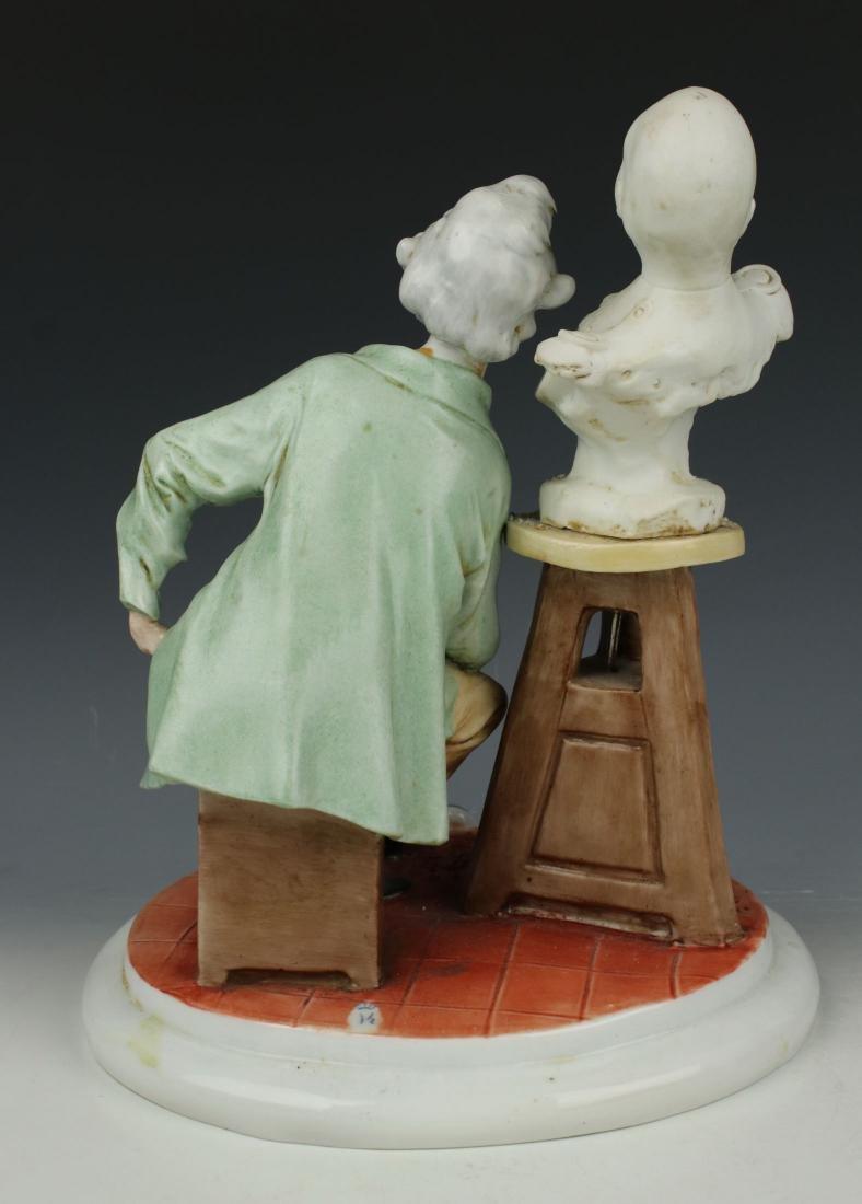 "Capodimonte Giuseppe Cappe Figurine ""The Sculptor"" - 3"