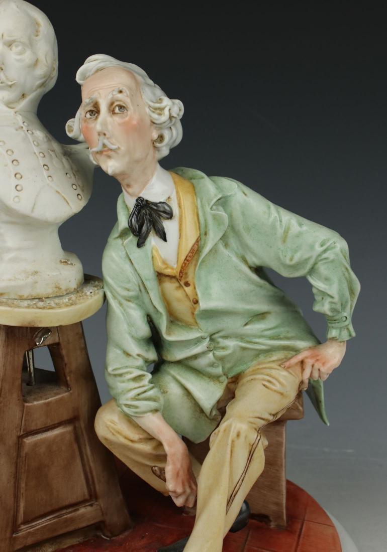 "Capodimonte Giuseppe Cappe Figurine ""The Sculptor"" - 6"