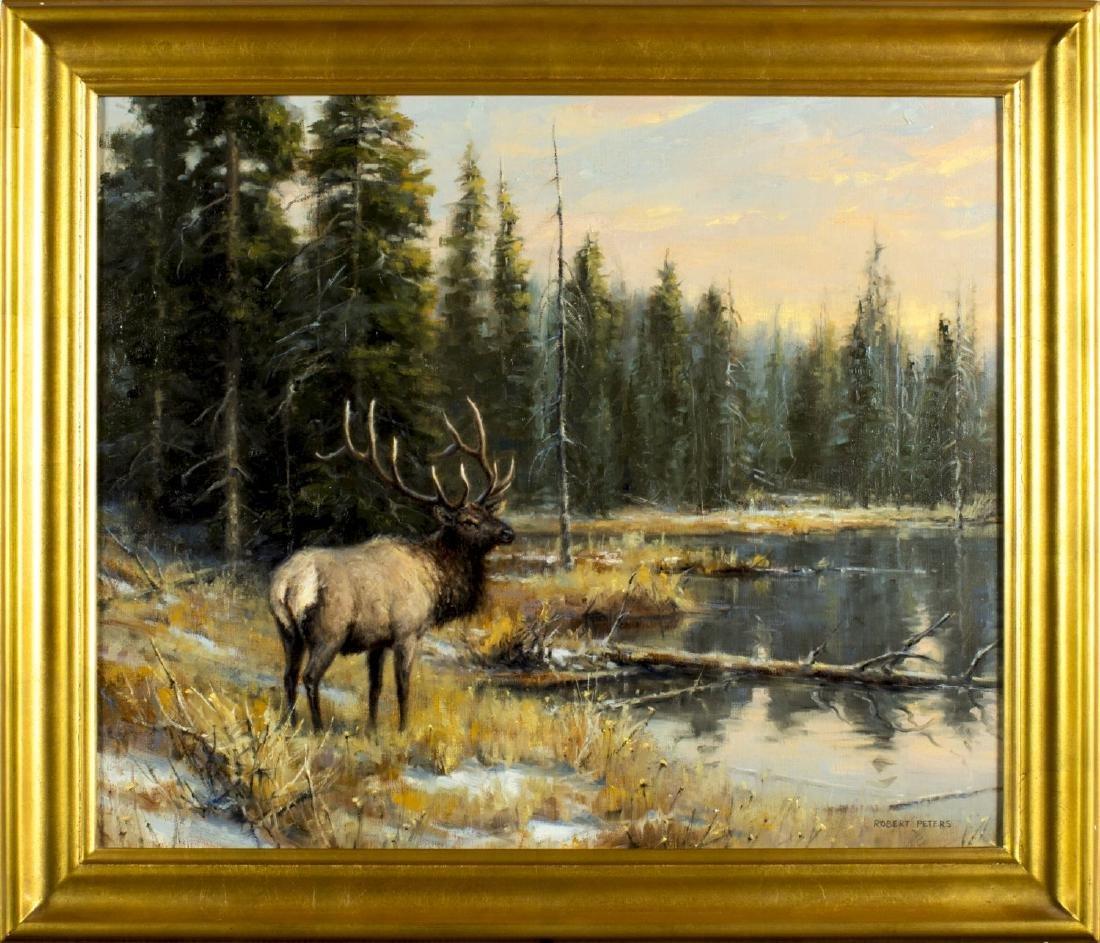 Robert Peters (Arizona,born 1960) oil painting