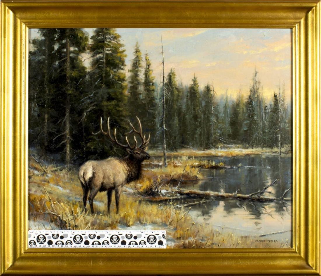 Robert Peters (Arizona,born 1960) oil painting - 2