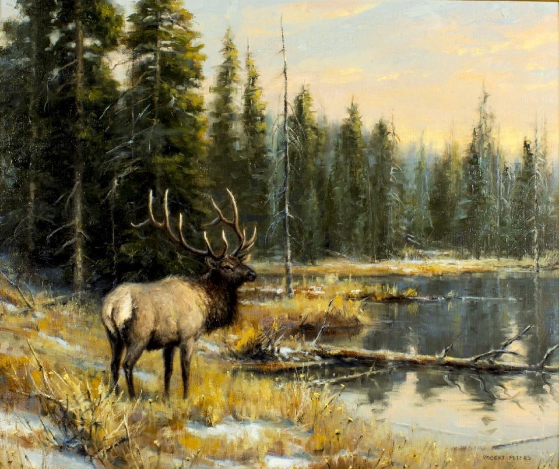 Robert Peters (Arizona,born 1960) oil painting - 3