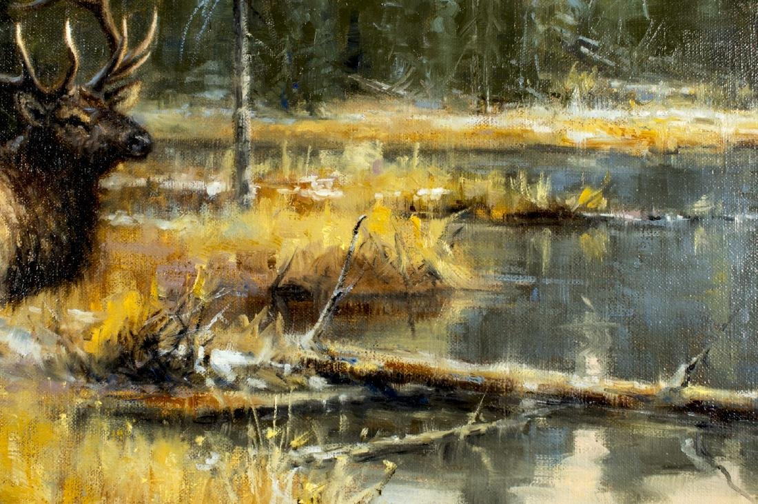 Robert Peters (Arizona,born 1960) oil painting - 5