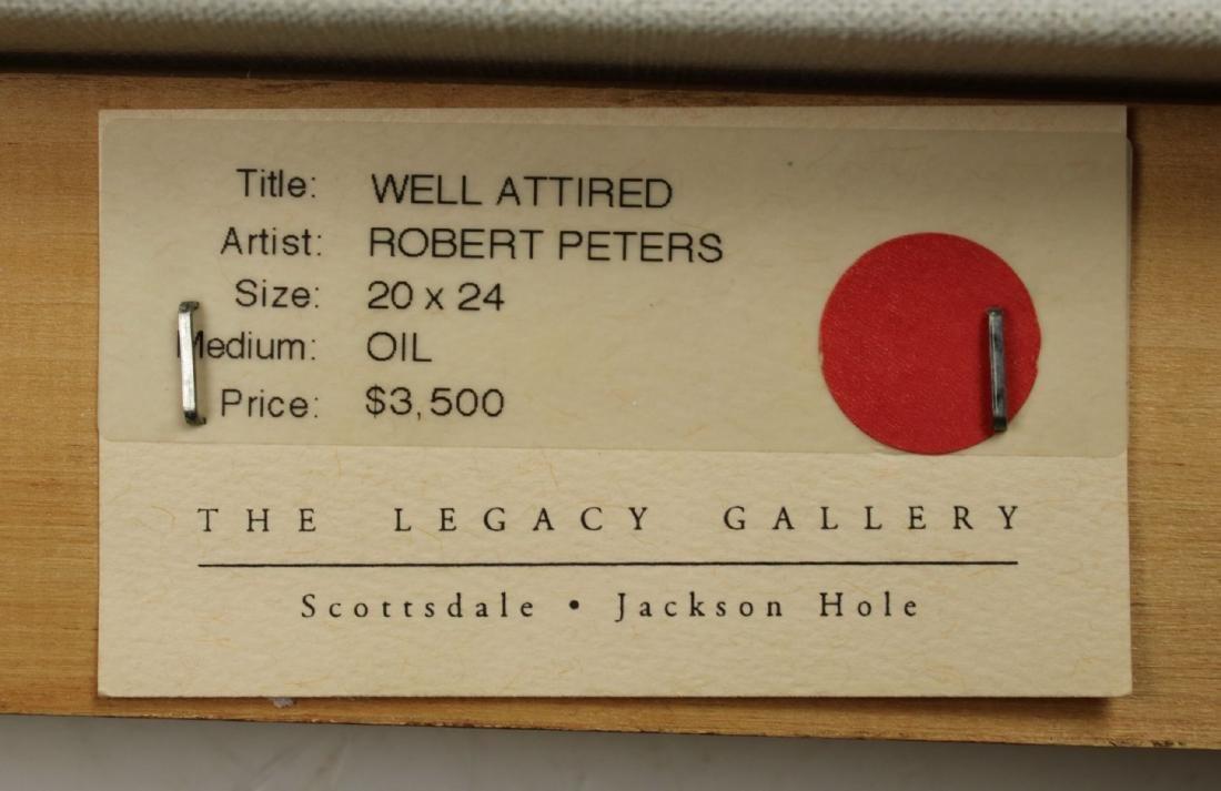 Robert Peters (Arizona,born 1960) oil painting - 9