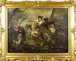Henry Singleton (UK,1766-1839) oil on canvas