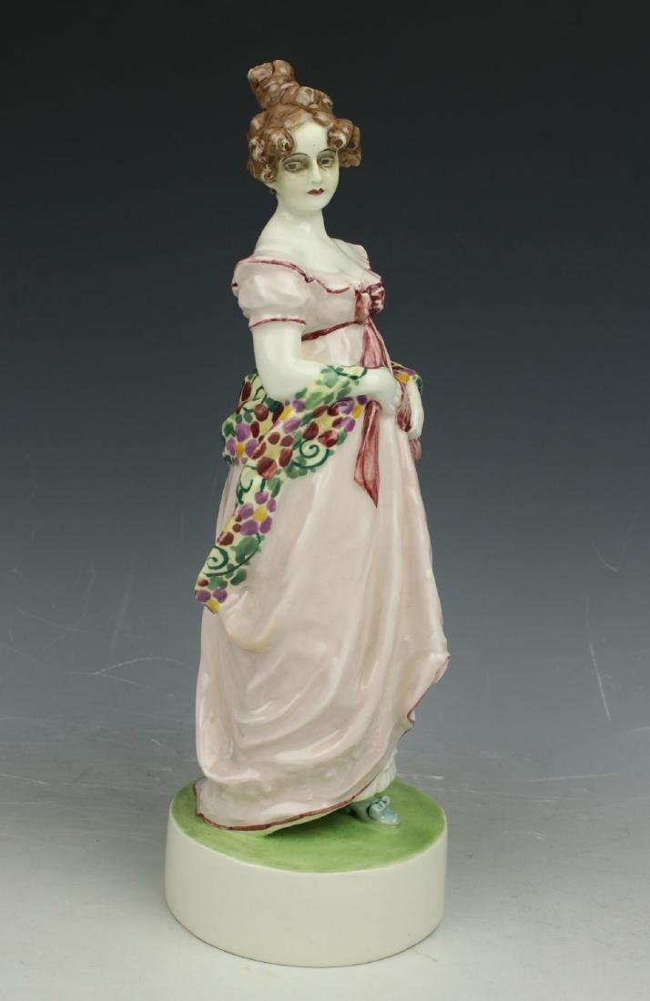 "Goldscheider Wien figurine 4674 ""Lady with Shawl"" - 2"