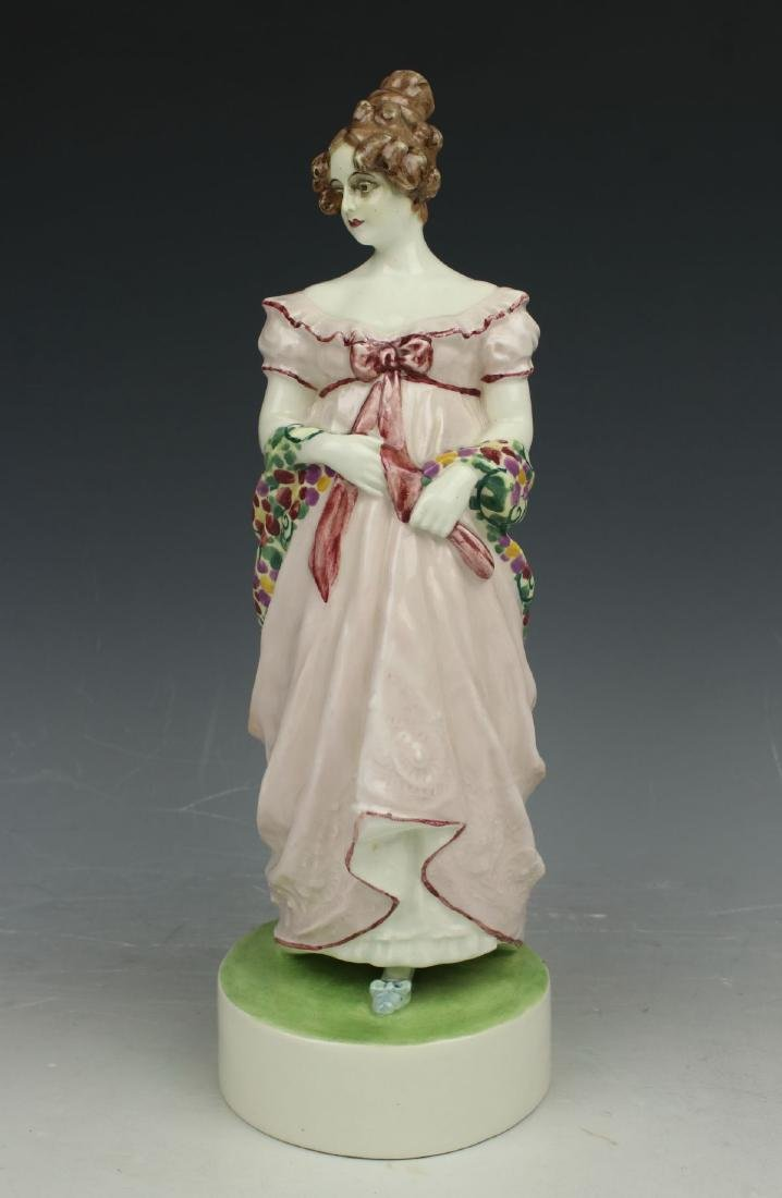 "Goldscheider Wien figurine 4674 ""Lady with Shawl"" - 4"