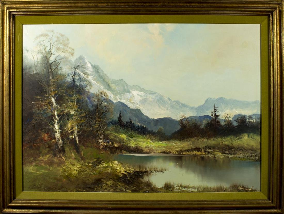 Kort (Germany,born 1939) oil on canvas