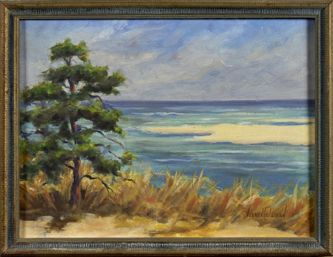 Vernon Herbert Coleman (MA,CT,1898-1978) oil painting