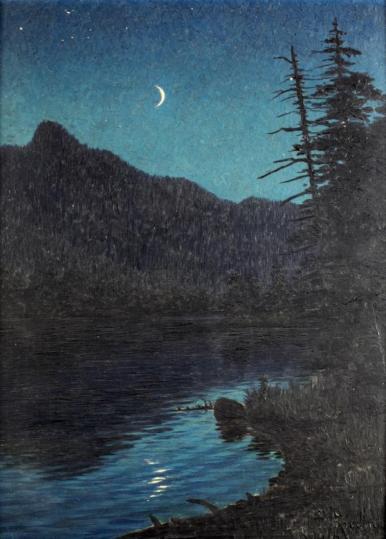 Robert Lindneux (CO,1871-1970) oil painting antique