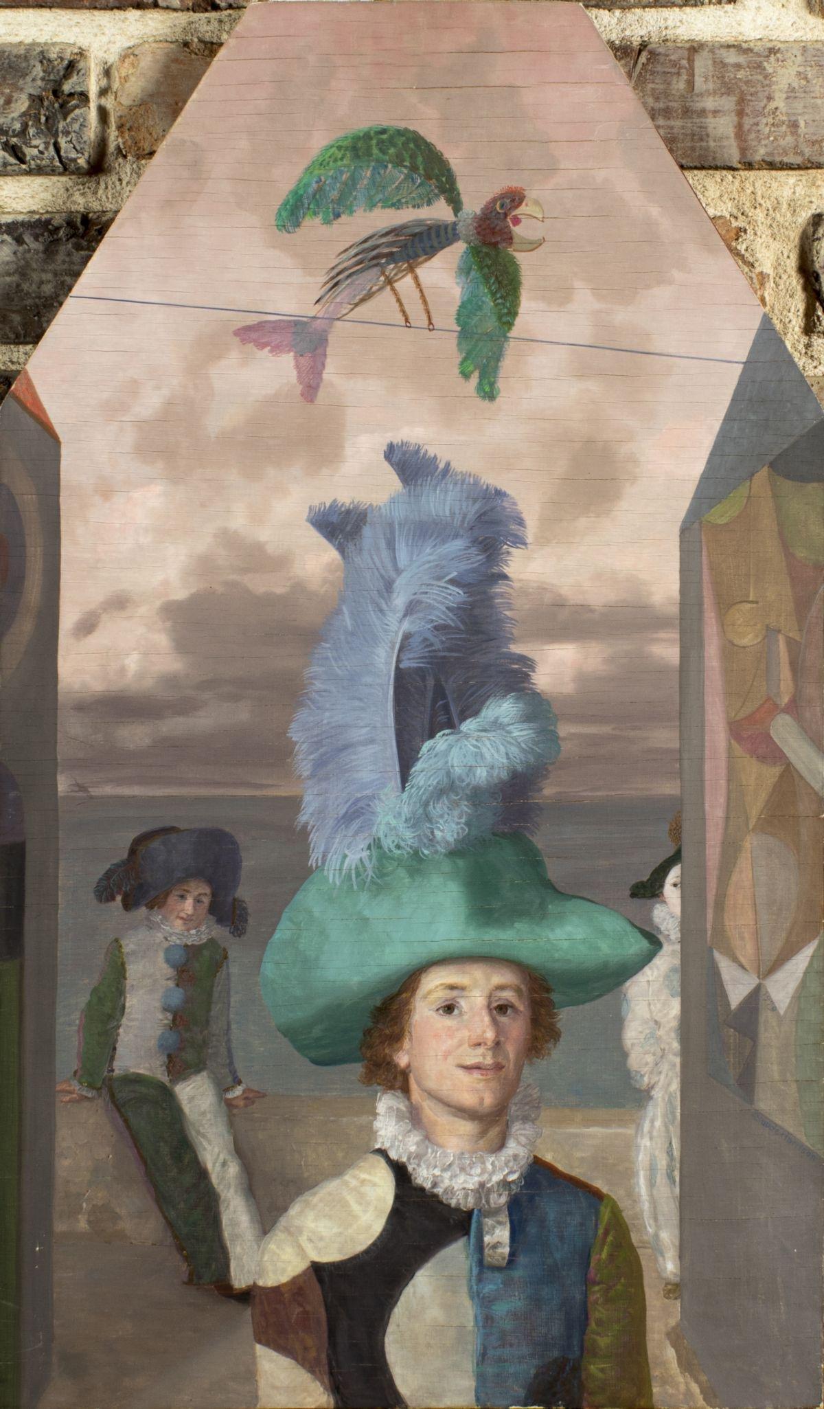 Claude William Harrison (UK,1922-2009) oil painting