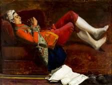 Jean Georges Vibert (France,1840-1902) oil painting