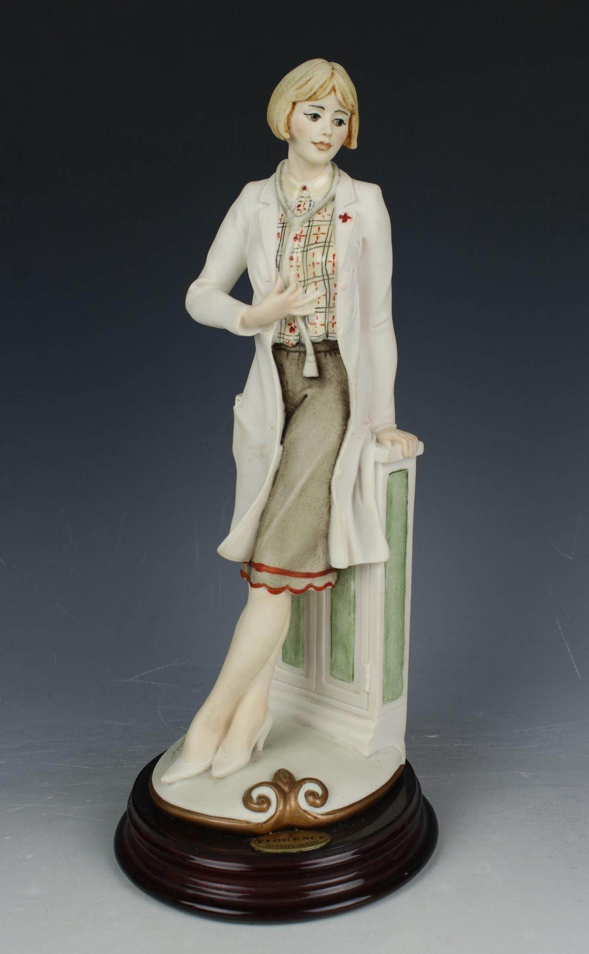 "Giuseppe Armani Figurine 249C ""Lady Doctor"""