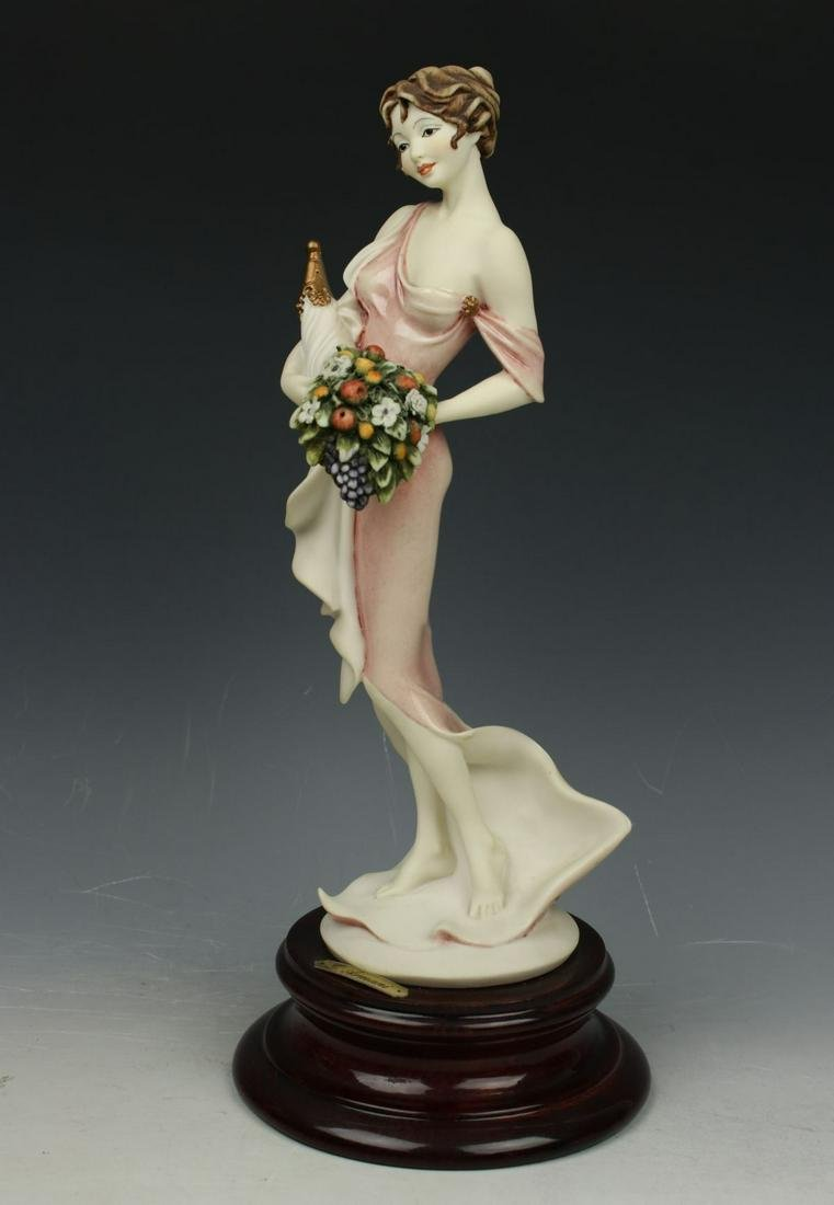 "Giuseppe Armani Figurine 846C ""Lady with Cornucopia"""