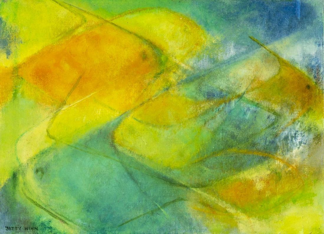 Betty Winn (TX,1915-2000) oil painting