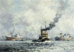Marinus Johannes de Jongere Dutch19121978 oil