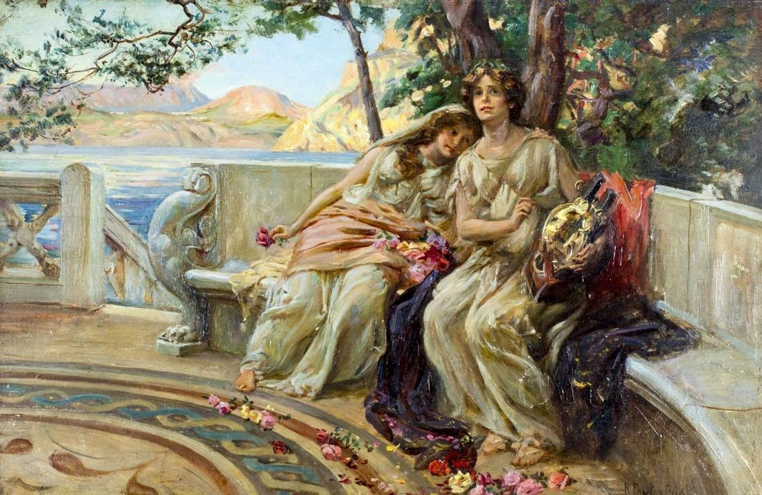 Robert Payton Reid (Scotland,UK,1859-1945) oil painting