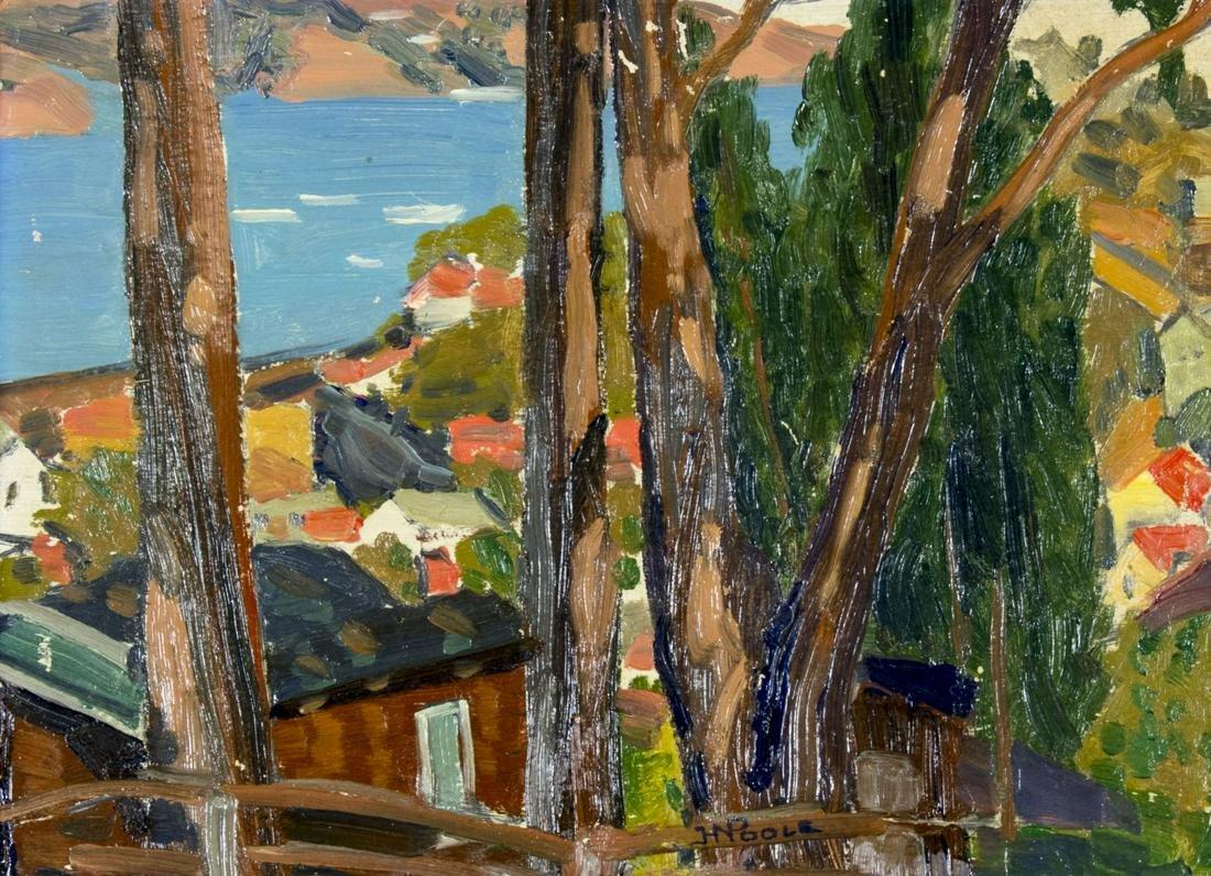 Horatio Nelson Poole (CA,HI,NJ,1884-1949) oil painting