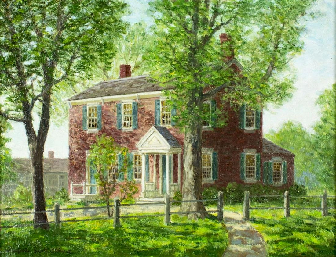 Winfield Scott Clime (CT,1881-1958) oil painting