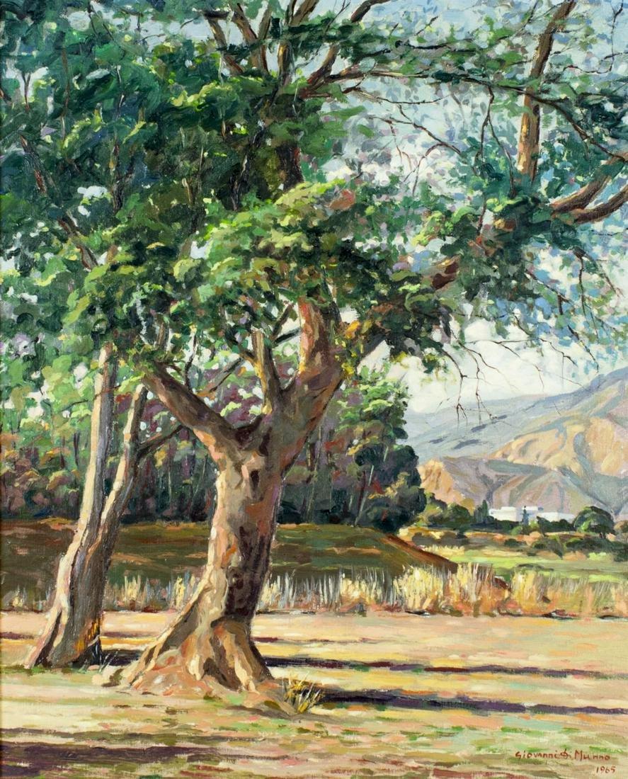 Giovanni Di Munno (Italy,20C) oil painting