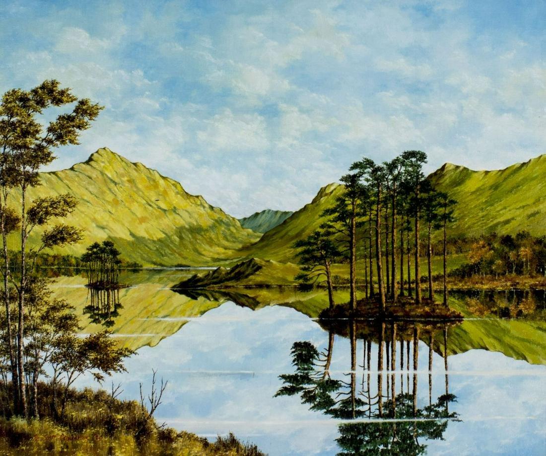 Scott Cameron (US,late 20C) oil painting