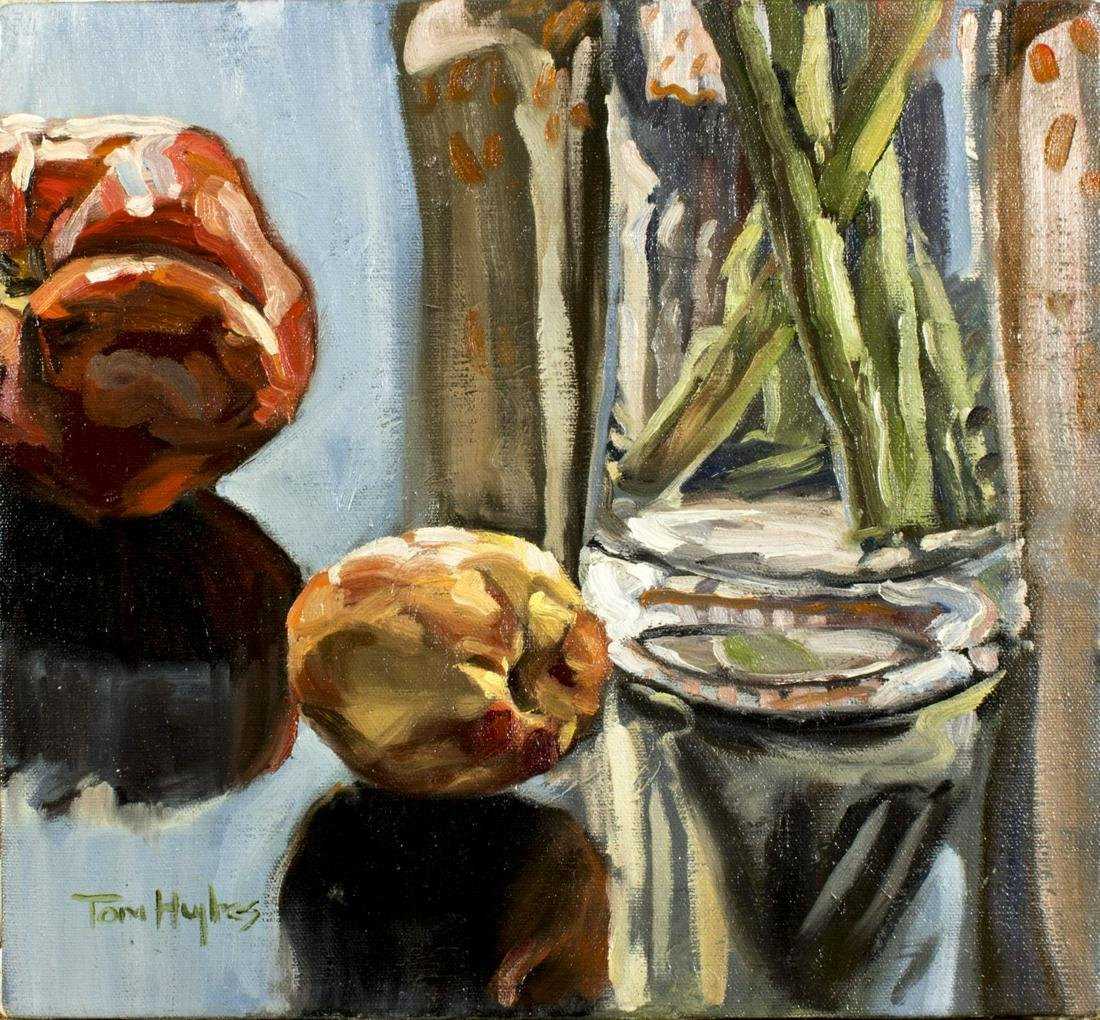 Tom Hughes (MA,CA,born 1965) oil painting