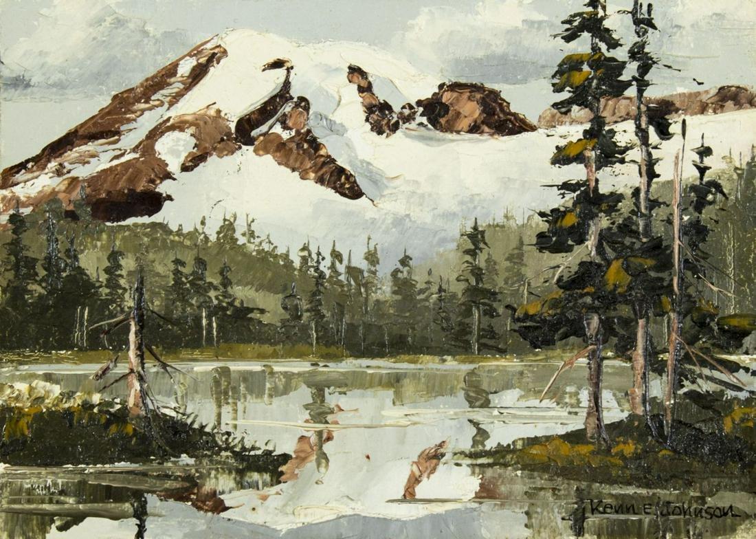 Kenn Johnson (WA,born 1914) oil painting