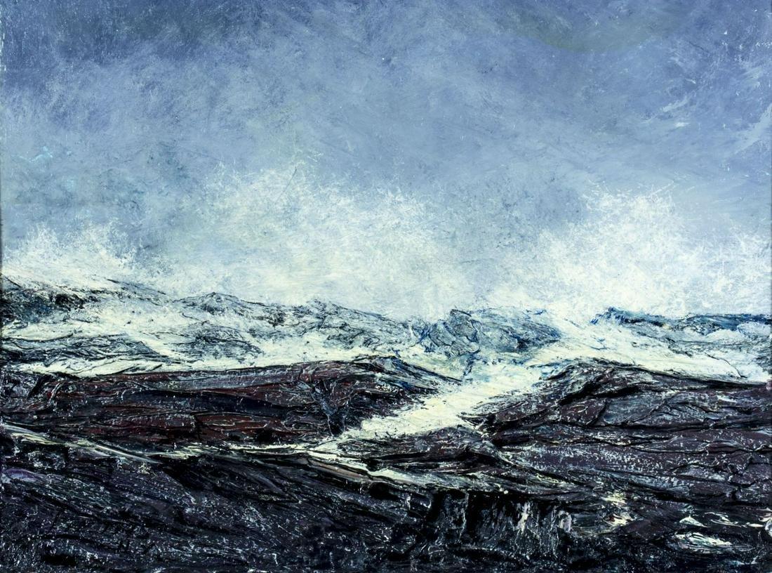 Robert Edmund Lee (NY,CA,Norway,1899-1980) oil painting