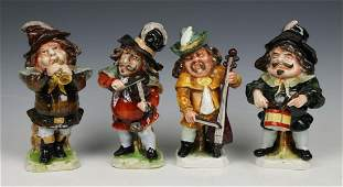 Rudolstadt Ernst Bohne Sohne Figurines Four Musicians
