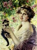 AFTER Emile Vernon France18721919 oil painting