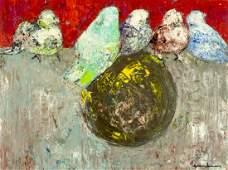 Gesner Armand Haiti19362008 oil painting