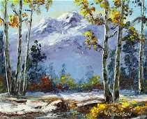 Lucien Vannerson (AZ,CA,1904-1982) oil painting