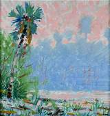 Gregory Lee Behymer (OH,FL,20C) oil painting