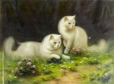 Benno Boleradszky (Hungary,1885-1957) oil painting